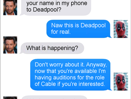 Texts From Superheroes: The 16th Wall