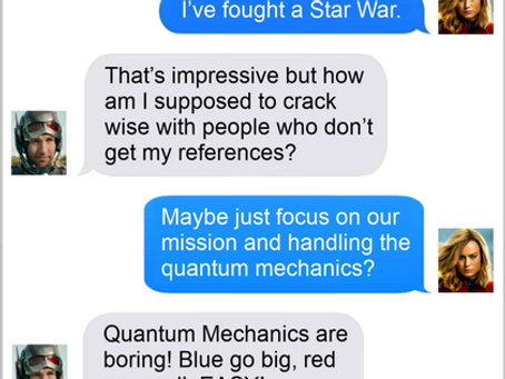 Texts From Superheroes: Work With What You Got