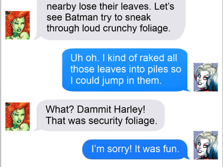 Texts From Superheroes: Just Leave It