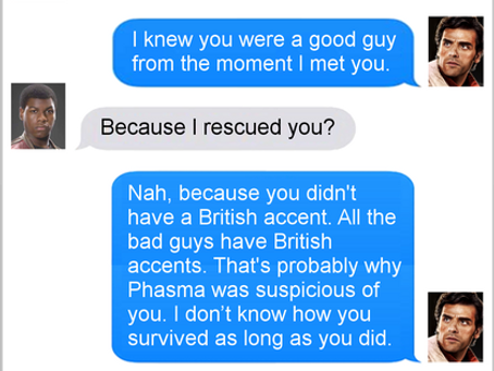 Texts From Superheroes: Undercover Work
