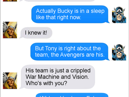 Texts From Superheroes: Divisions