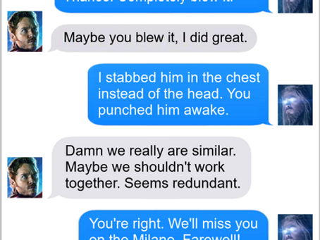 Texts From Superheroes: This Ship's Not Big Enough For The Two Of Us