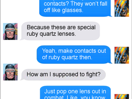 Texts From Superheroes: Point of Contact