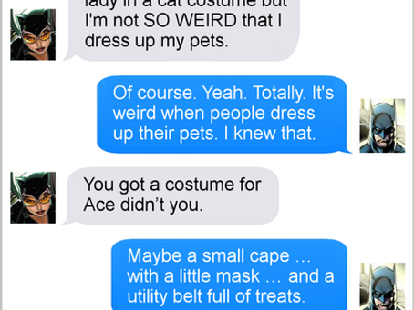 Texts From Superheroes: It's Halloween