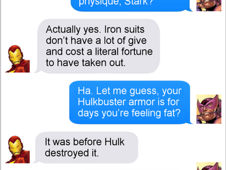Texts From Superheroes: Easter Candy