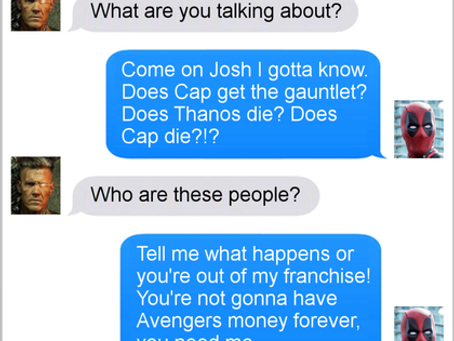 Texts From Superheroes: Inside Information