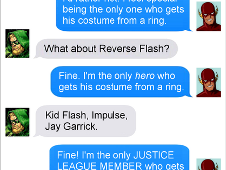 Texts From Superheroes: A Ring of Truth