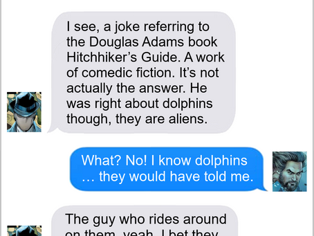 Texts From Superheroes: You Think You Know Someone