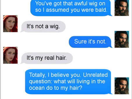 Texts From Superheroes: Maybe She's Born With It?