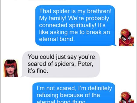 Texts From Superheroes: Eternal Bonds