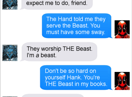 Texts From Superheroes: Nouns