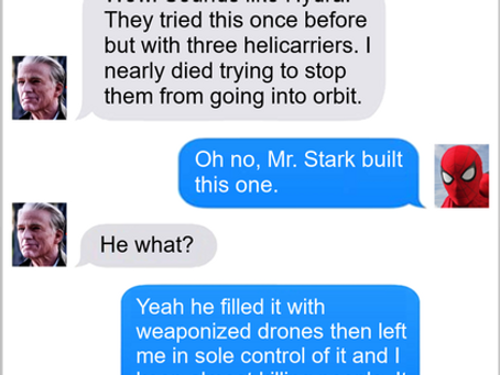 Texts From Superheroes: One Thing Before I Go