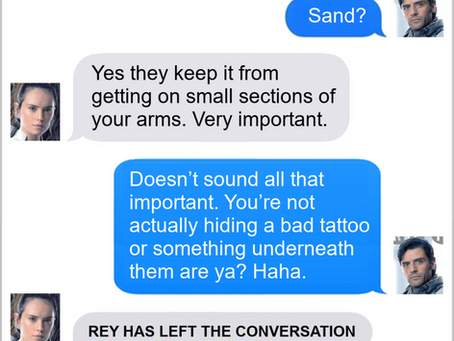 Texts From Superheroes: Best of Star Wars