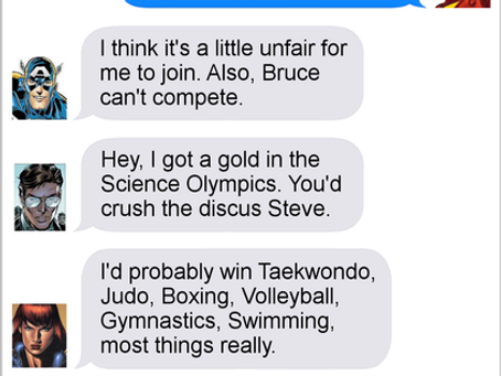 Texts From Superheroes: Earth's Mightiest Athletes