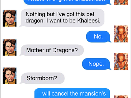 Texts From Superheroes: Name calling