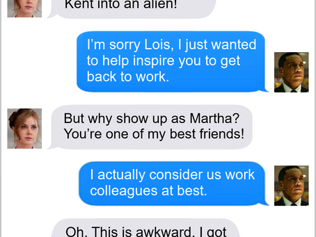 Texts From Superheroes: That's What Friends (?) Are For (SPOILERS FOR THE SNYDER CUT)