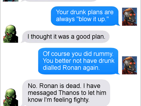 Texts From Superheroes: The Best of the Guardians of the Galaxy (No Volume 2 spoilers)