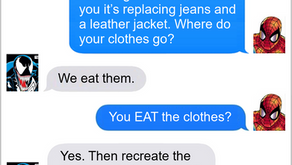 Texts From Superheroes: Killer Fashion