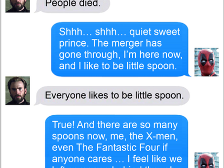 Texts From Superheroes: The Spider Stands Alone