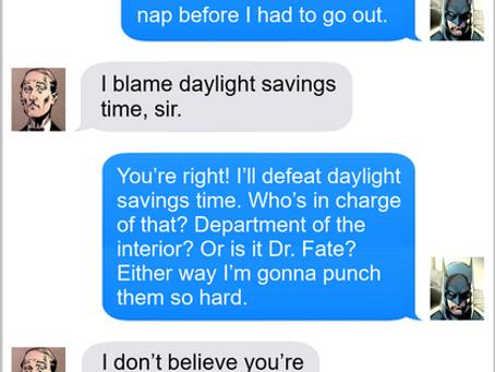Texts From Superheroes: Dark Night