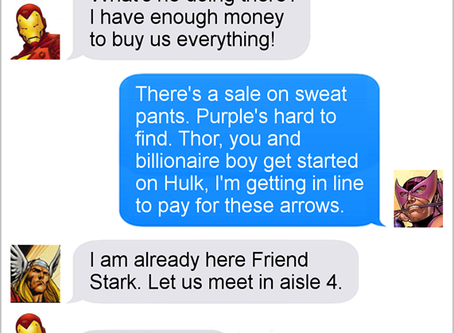 Texts From Superheroes: The Best of Thor