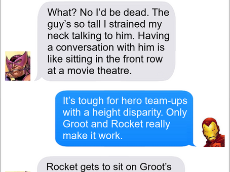 Texts From Superheroes: Skill Upgrade