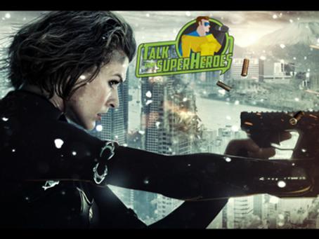 Talk From Superheroes: Resident Evil Retribution