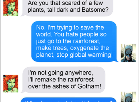Texts From Superheroes: Paradise City
