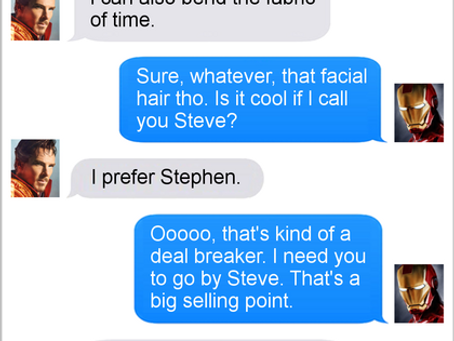 Texts From Superheroes: Replaceable