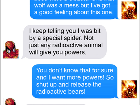 Texts From Superheroes: Rad