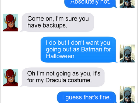 Texts From Superheroes: Best of Halloween