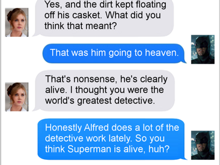 Texts From Superheroes: Open Secret