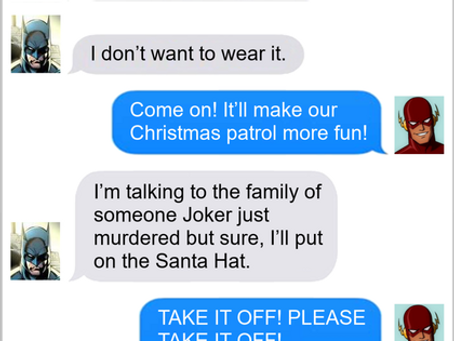 Texts From Superheroes: Christmas Spirit