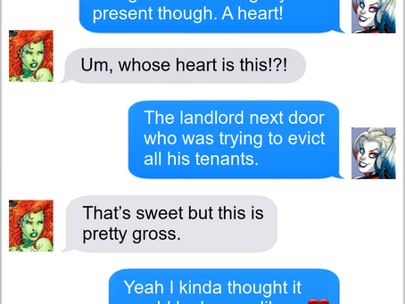 Texts From Superheroes: Love Comes In All Shapes