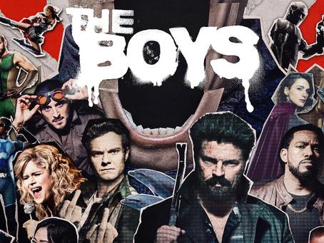 Talk From Superheroes: The Boys (Season 2)