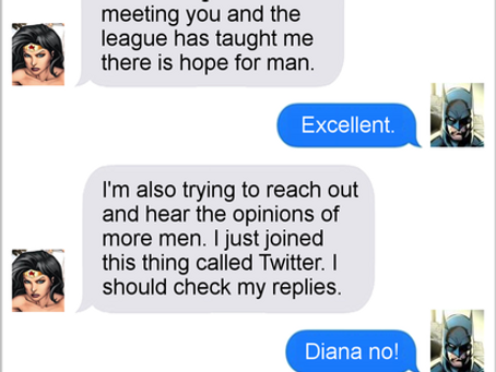 Texts From Superheroes: Hope