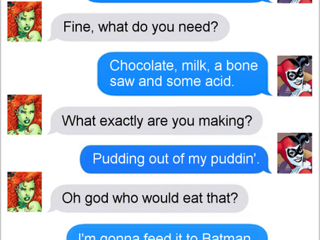 Texts From Superheroes: Best of Birds of Prey