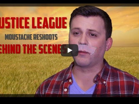 Sketch From Superheroes: Justice League Moustache Reshoots