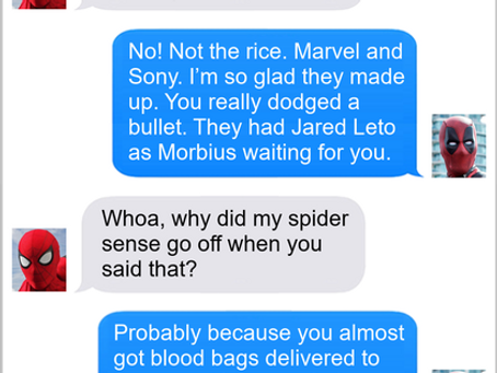 Texts From Superheroes: Dodge a Bullet