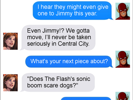 Texts From Superheroes: The Truth Hurts