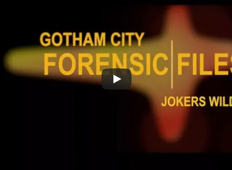 Sketch From Superheroes: Gotham City Forensic Files