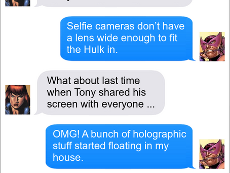 Texts From Superheroes: End Meeting