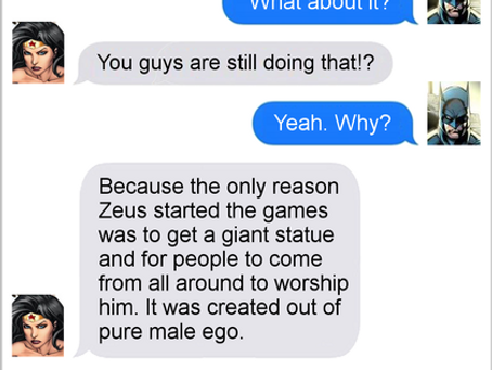 Texts From Superheroes: And They're Crushing It