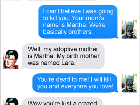 Texts From Superheroes: Moms