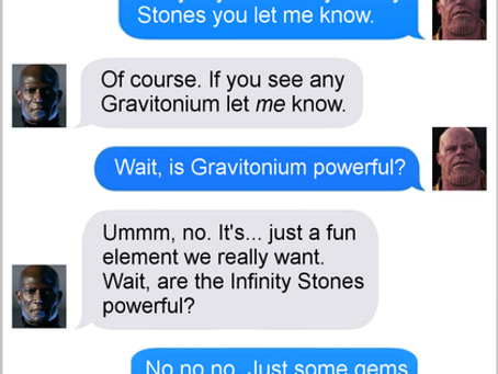 Texts From Superheroes: Crowded Up Here