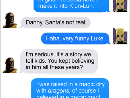 Texts From Superheroes: Merry Fistmas
