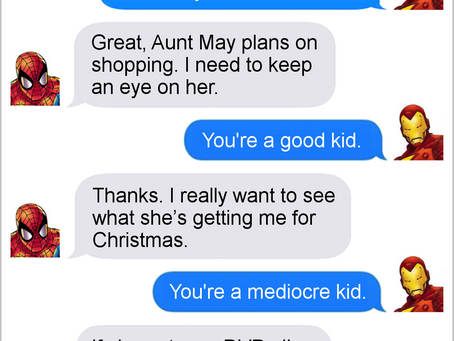 Texts From Superheroes: Best of Black Friday