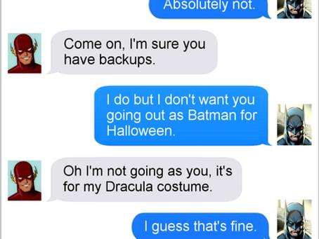 Texts From Superheroes: Knightfail