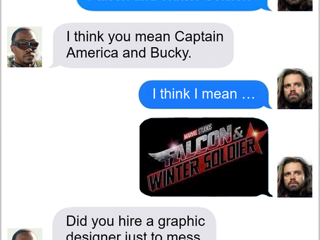 Texts From Superheroes: That's The Show!
