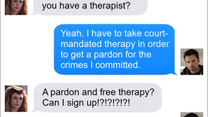 Texts From Superheroes: Pardon Me?